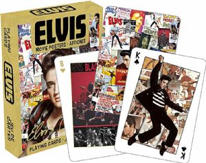 Elvis Presley Movie Posters  set of 52 playing cards   (nm)
